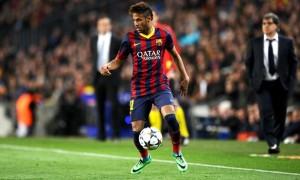 Neymar barcelona footballer copa del rey