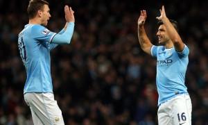 Sergio Aguero Manchester City To claim the Premier League title