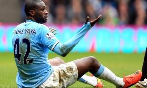 Yaya Toure Man City footballer
