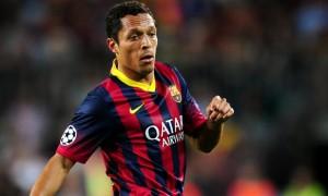 Adriano Barcelona v Atletico La Liga