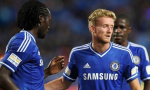 Andre Schurrle Chelsea forward footballer