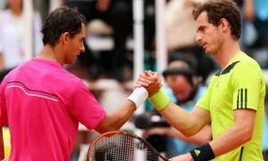 Andy Murray v Santiago Giraldo Madrid Masters tennis