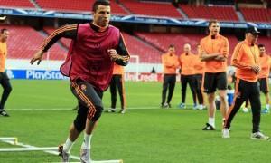 Cristiano Ronaldo Real Madrid v Atletico Madrid