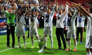 Cristiano Ronaldo Real Madrid wins Champions League