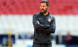 Diego Simeone Atletico Madrid coach Champions league