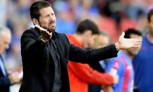 Diego Simeone Atletico Madrid positive despite defeat