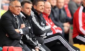 Felix Magath Fulham v Stoke City
