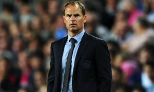 Frank de Boer Ajax manager on Tottenham