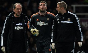 Goalkeeper Allan McGregor Hull City