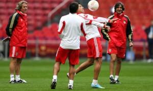 Jorge Jesus Benfica head coach v Benfica Europa League