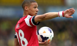 Kieran Gibbs Arsenal defender football