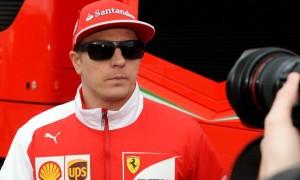 Kimi Raikkonen Ferrari Monaco Grand Prix