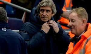 Manuel Pellegrini Manchester City boss