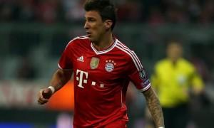 Mario Mandzukic striker bayern munich