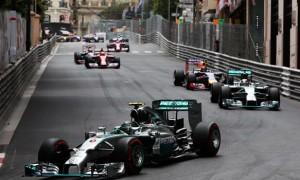 Nico Rosberg Mercedes 2014 Monaco Grand Prix