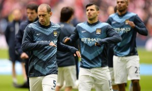 Pablo Zabaleta Manchester City no room for complacency