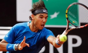 Rafael Nadal v Novak Djokovic in Rome Masters final