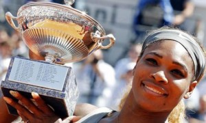 Serena Williams winning the Rome Masters