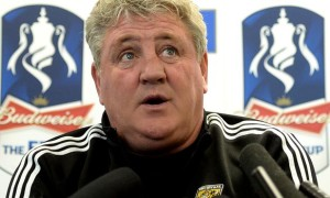 Steve Bruce Hull City boss fa cup