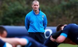 Stuart Lancaster England coach Rugby