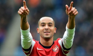 Theo Walcott Arsenal fa cup finals