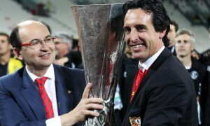 Unai Emery Sevilla manager Europa League