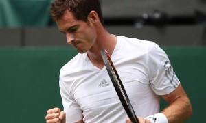 Andy Murray v David Griffin 2014 Wimbledon Championships