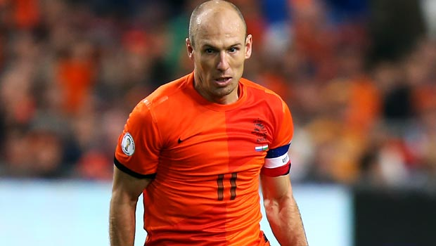Arjen Robben Limbers Up For Brazil Dafabet Sports