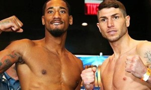 Brian Rose and Demetrius Andrade boxing