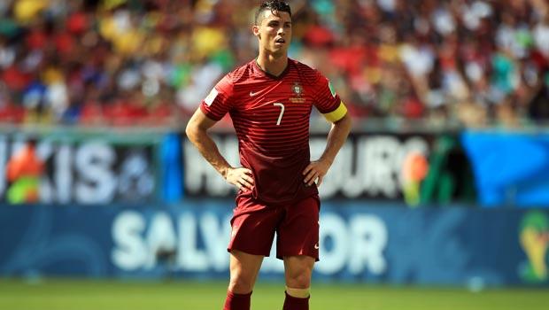 Portugal Captain Cristiano Ronaldo Not Feeling The Heat