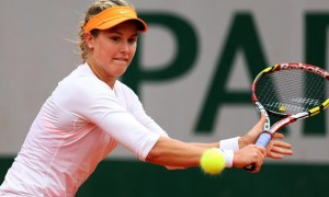 Eugenie Bouchard v Carla Suarez French Open