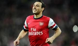 Santi Cazorla Arsenal midfielder