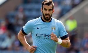 Alvaro Negredo Manchester City striker