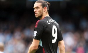 Andy Carroll West Ham striker