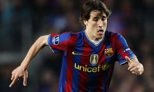Bojan Krkic Barcelona striker