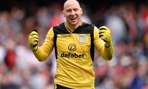 Brad Guzan Aston Villa goalkeeper