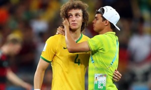 David Luis and Thiago Silva Brazil World Cup