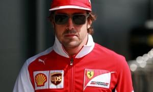 Fernando Alonso Ferrari Hungarian Grand Prix