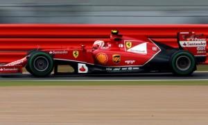 Ferraris Kimi Raikkonen 2014 British Grand Prix