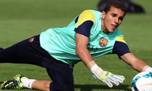 Jordi Masip Barcelona goalkeeper