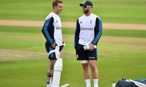Jos Buttler and Matt Prio England First Investec Test Match