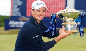 Justin Rose wins Scottish Open