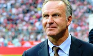 Karl-Heinz Rummenigge Bayern Munich chief executive