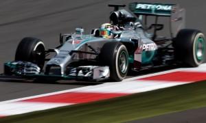 Lewis Hamilton Mid Season Testing Silverstone Race Track