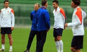 Robin van Persie Netherlands captain