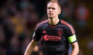 Siem De Jong Ajax captain