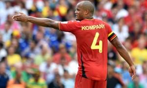 Vincent Kompany Belgium World Cup
