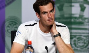 Andy Murray ahead of US Open