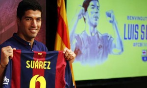 Luis Suarez New Barcelona forward