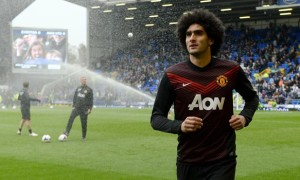Marouane Fellaini Manchester United midfielder